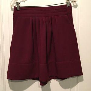 Pretty cranberry/plum skirt